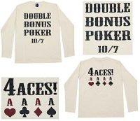 4ACES 長袖Tシャツ