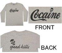 COCAINE 長袖Tシャツ