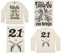 画像1: 21 長袖Tシャツ