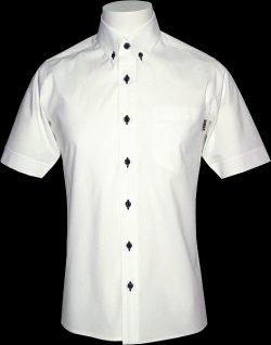 画像1: Stretch 半袖B.Dシャツ