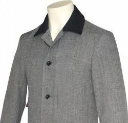 画像2: Chambray Coat/Black Collar